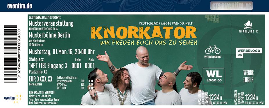 Knorkator Karten für ihre Events 2017