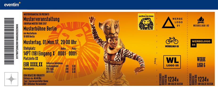 Karten für Disneys DER KÖNIG DER LÖWEN in Hamburg