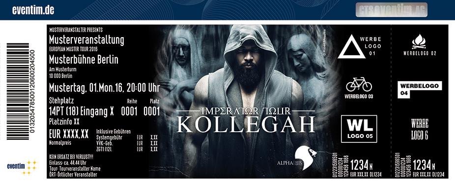 Kollegah Karten für ihre Events 2017