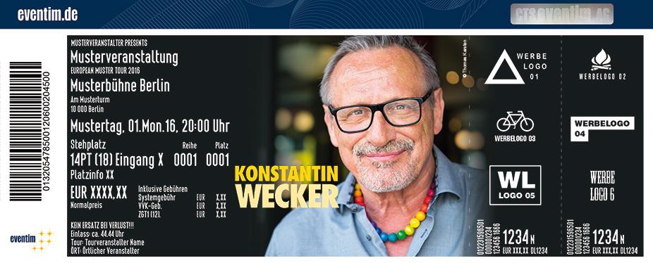 Karten für Konstantin Wecker: Poesie und Widerstand in Hannover
