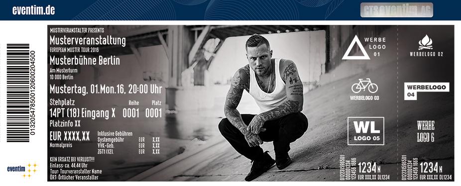 Kontra K in Dresden am 02.11.2016 - RTL Tickets