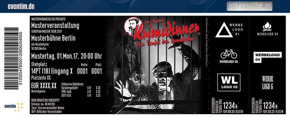 Karten für Krimidinner - Der Teufel der Rennbahn präsentiert von WORLD of DINNER in Bremen