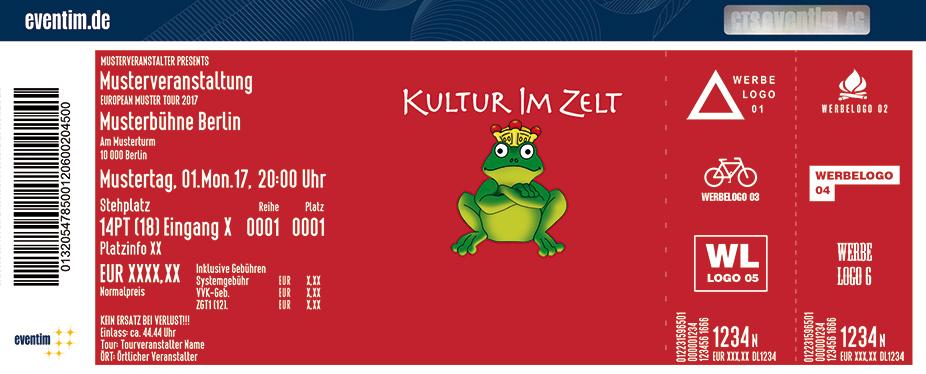 Karten für Festival Kulturimzelt Braunschweig 2017 in Braunschweig