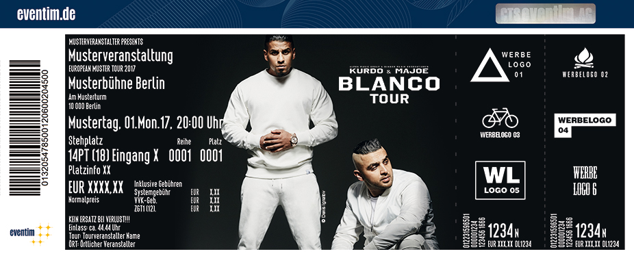 Karten für Kurdo x Majoe: Blanco Tour in Frankfurt / Main