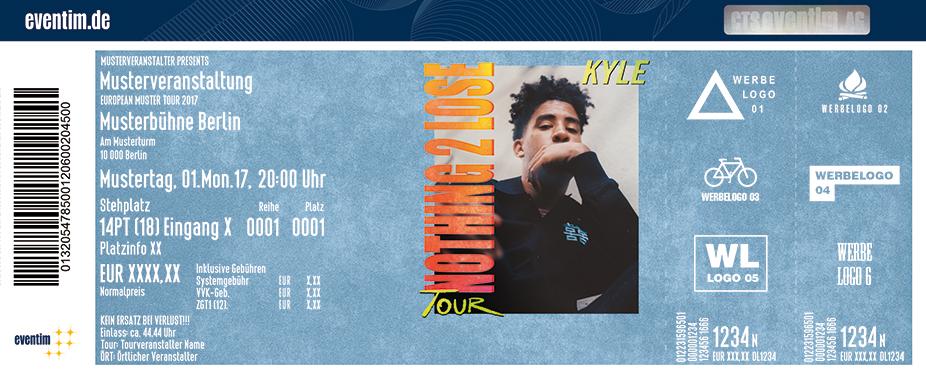 Kyle Karten für ihre Events 2017