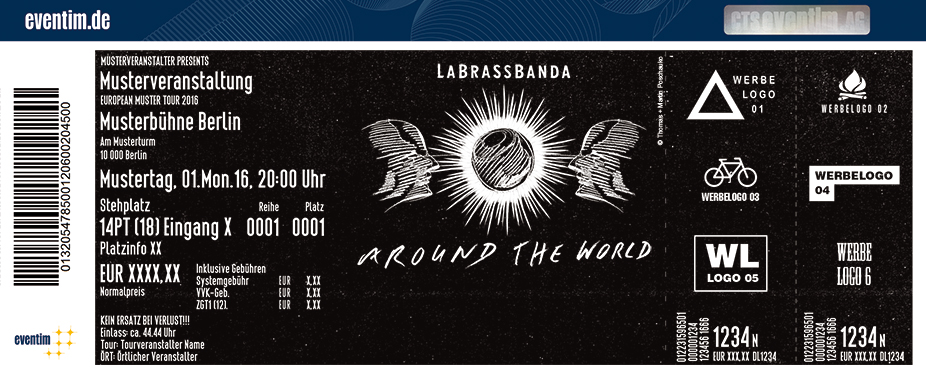 Karten für LaBrassBanda: Around The World - Open Air 2018 in Rastatt