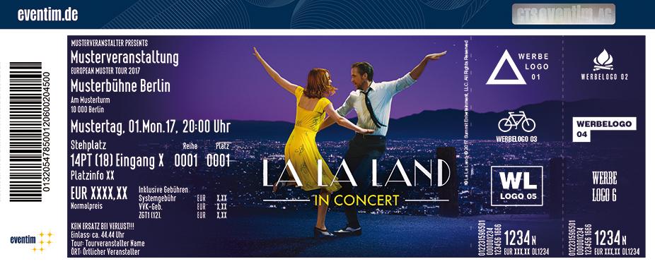 Karten für La La Land - In Concert in Regensburg