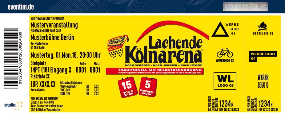 Lachende Kölnarena Karten für ihre Events 2018