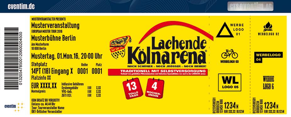 Lachende Kölnarena Karten für ihre Events 2017