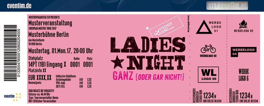 Karten für Ladies Night - Ganz oder gar nicht | Gasteig München in München