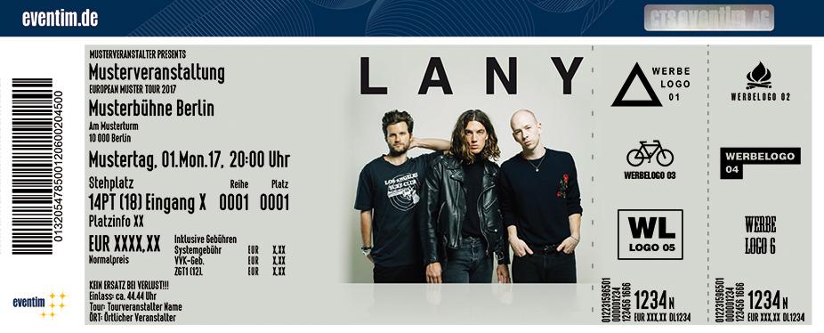 Karten für Lany in Hamburg