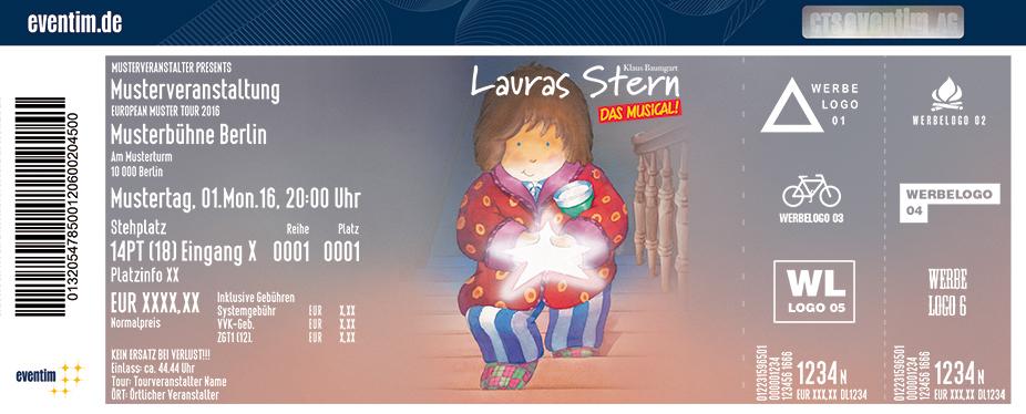 Lauras Stern - Das Musical Karten für ihre Events 2017