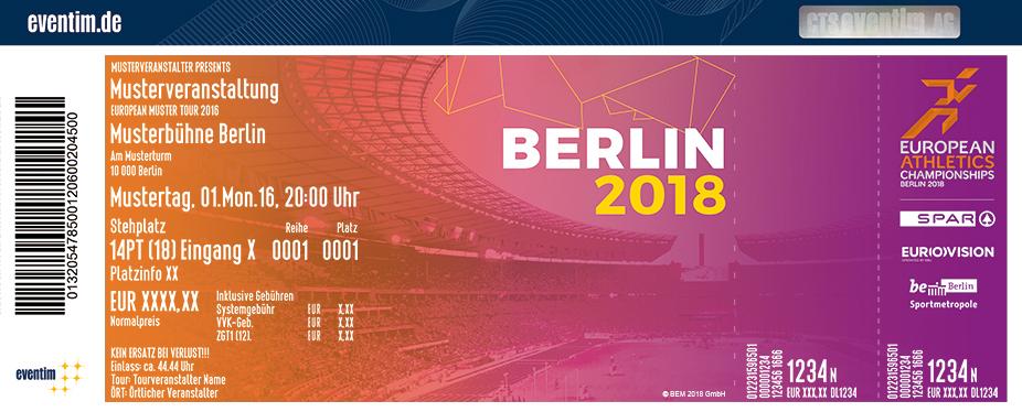 Leichtathletik Em Karten für ihre Events 2017