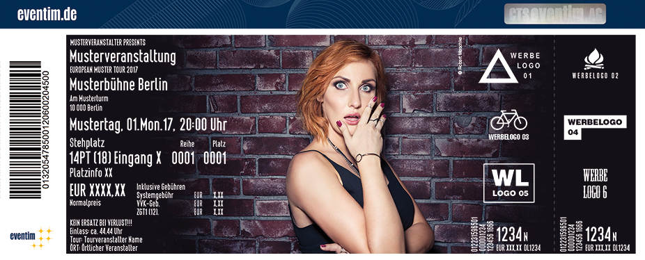 Lena Liebkind Karten für ihre Events 2017