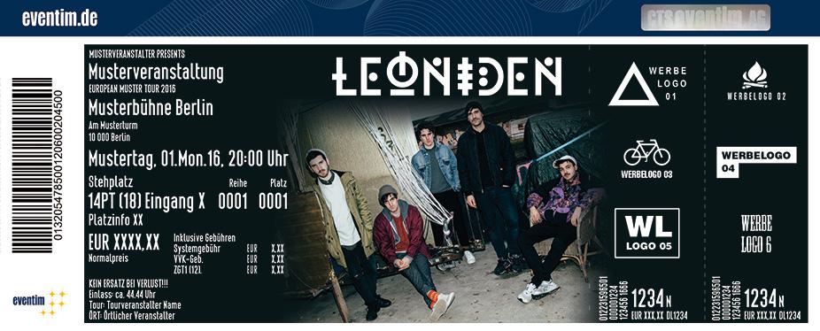 Leoniden Karten für ihre Events 2017