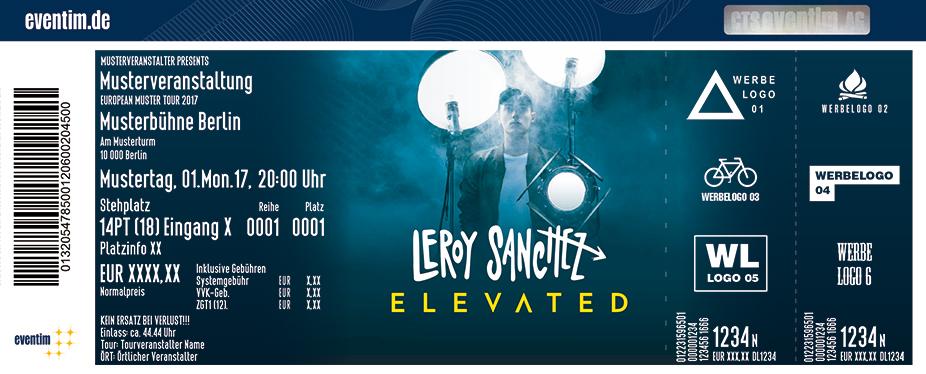 Leroy Sanchez Karten für ihre Events 2017