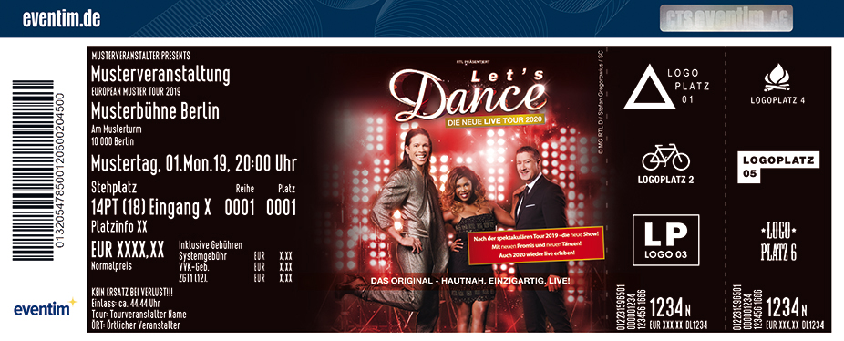 tickets lets dance