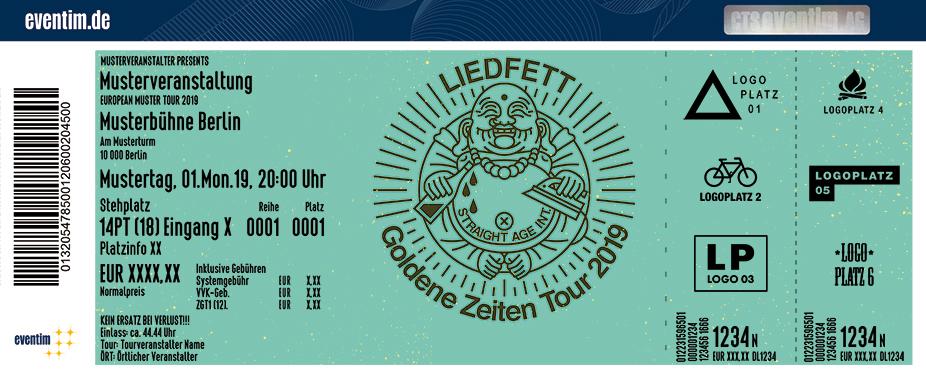 Liedfett - Goldene Zeiten Tour 2019