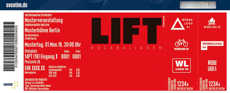 Karten für Lift in Dresden