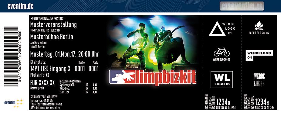 Karten für Limp Bizkit - Live 2018 in Halle (Saale)
