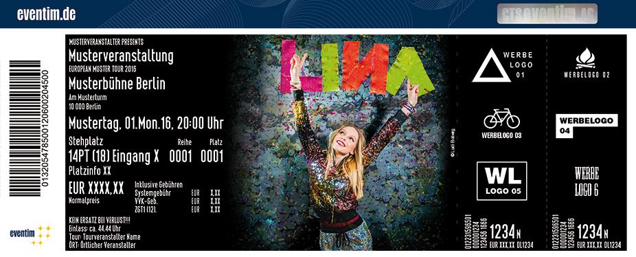 Lina Karten für ihre Events 2017
