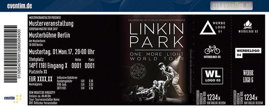 Linkin Park Karten für ihre Events 2017