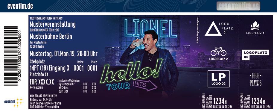 Lionel Richie - Hello Tour