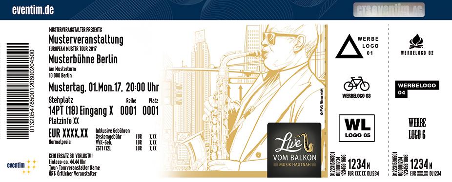 Karten für Live Vom Balkon in Riesa