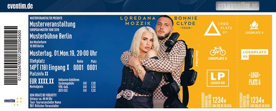 Loredana & Mozzik - Bonnie & Clyde Tour