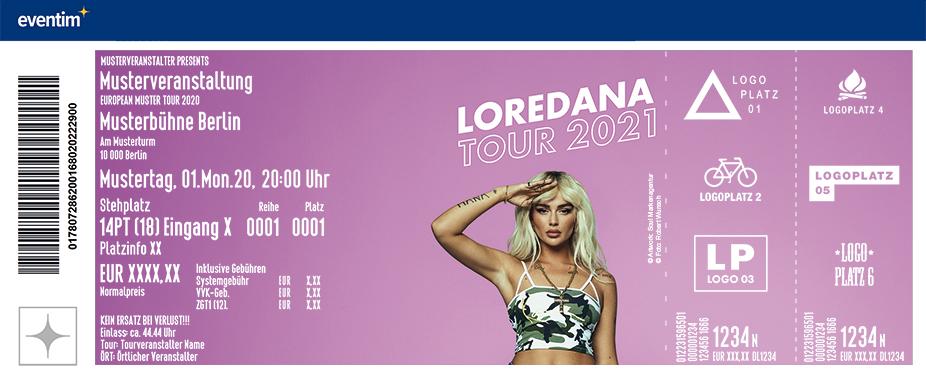 Loredana - Loredana Tour 2021