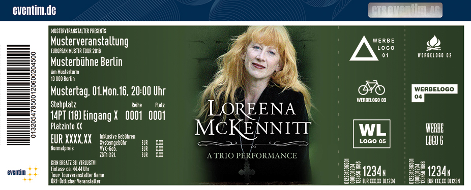 Karten für Loreena McKennitt - A Trio Performance in Leipzig