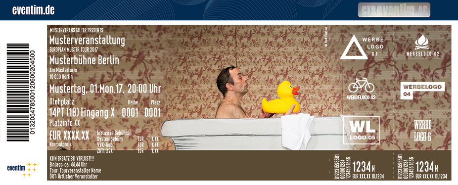 Karten für Der Grosse Loriot Abend mit dem Programm: Ein Klavier! Ein Klavier! in Bremen