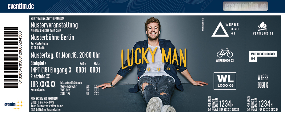 Karten für Luke Mockridge: Lucky Man in Oldenburg