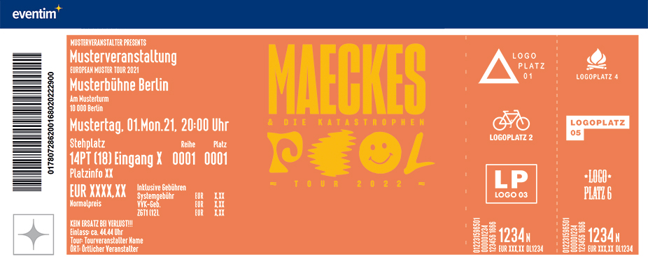 Maeckes & Die Katastrophen - Pool Tour 2022