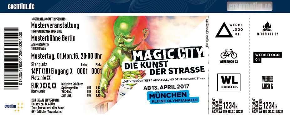 Karten für Magic City München in München