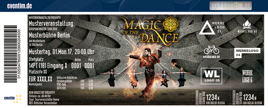 Karten für Magic of the Dance - Live 2018 in Rheinberg