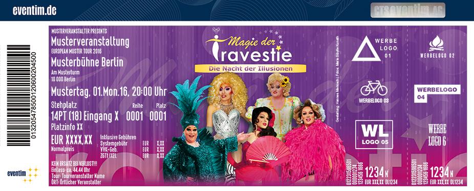 Karten für Magie der Travestie - Die Nacht der Illusionen in Zwickau
