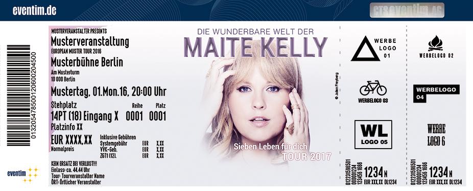 Karten für Maite Kelly: Sieben Leben für dich - Tour 2017 in Trier