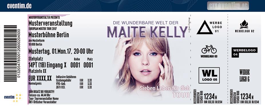 Maite Kelly Karten für ihre Events 2018