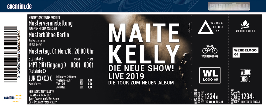Karten für Maite Kelly - Die neue Show - Live 2019 in Gera