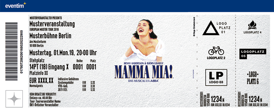 MAMMA MIA! – Das Musical in Berlin