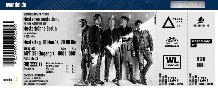 Karten für Mando Diao in Dortmund