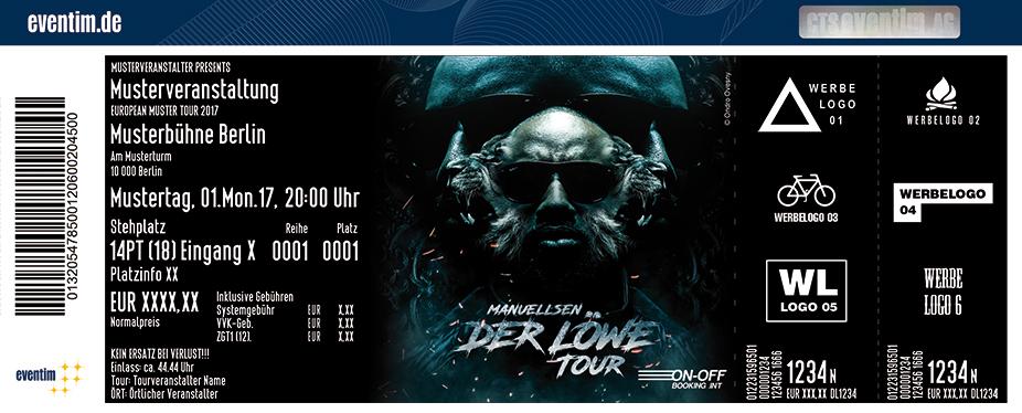 Karten für Manuellsen: Der Löwe - Tour 2017 in Frankfurt Am Main