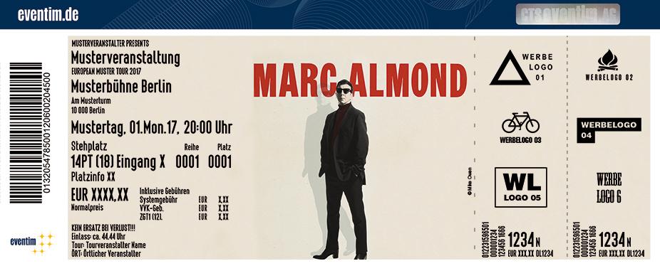 Karten für Marc Almond: Shadows and Reflections Tour in Berlin