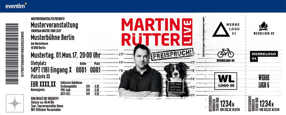Karten für Martin Rütter: Freispruch! in Hamburg