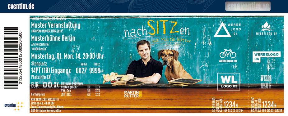 Karten für Martin Rütter: nachSITZen in Oberhausen