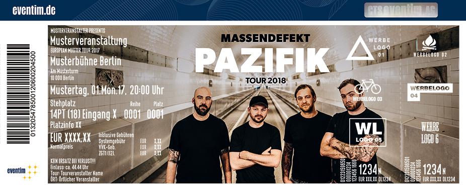 Karten für Massendefekt: Pazifik Tour 2018 in Leipzig