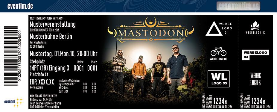 Mastodon Karten für ihre Events 2017