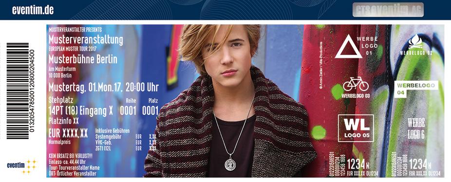Karten für Matteo Markus Bok in Berlin