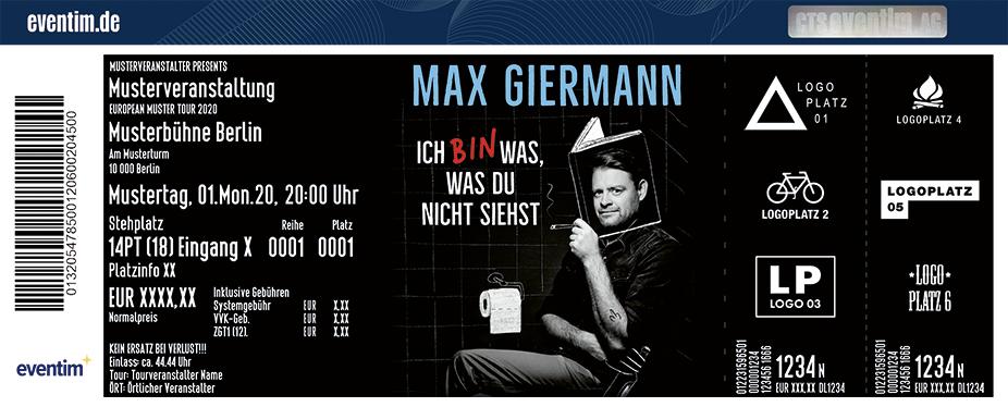 Max Giermann - Ich bin was, was Du nicht siehst
